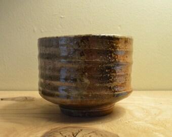 Wood Fired Tea Bowl, simple tea bowl,