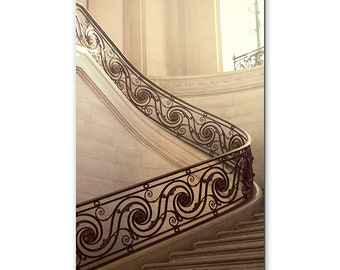 Photo Print, Ascension, A Staircase In The Louvre, The Louve, Staircase Photography, France, Paris Photos, Museum, Europe, Travel