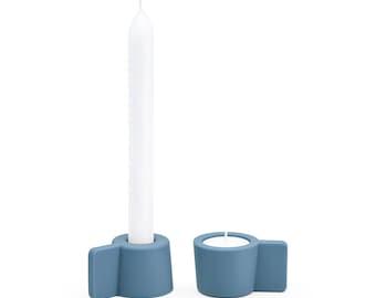 SILLY - Puik Art - Design - Amsterdam - Leuchter - Teelicht - silikon - Set - Kerze - Multifanktions - Tisch - Wohnzimmer - Minimalistisch