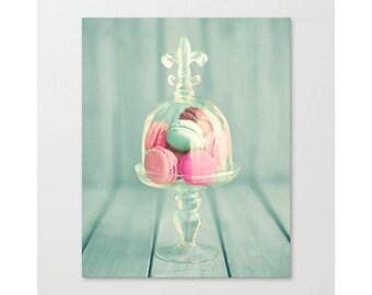 Wall art canvas, macarons, extra large wall art, macaron, canvas art, macaroons, large wall art, macaroon, canvas wall art, mint, pink