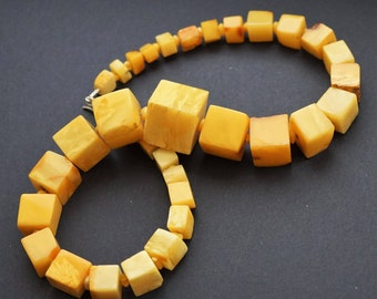 83g.Natural Baltic Amber Necklace