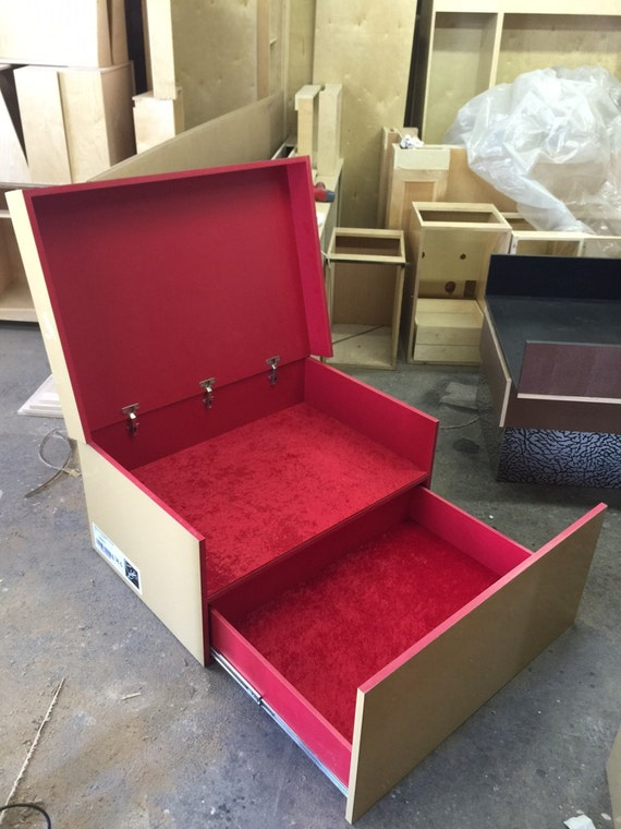 Like this item? & Custom Louboutin Inspired Giant Shoe Box with Red Velvet