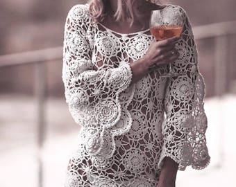 Crochet Dress Summer Dress Festival Dress