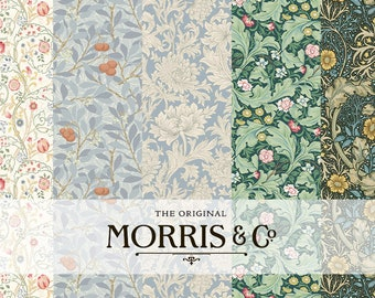 William Morris Floral Washi Tape, MT Masking Tape, William Morris Print, Flower Washi, Planner Tape, Paper Crafts, Arts and Crafts Movement