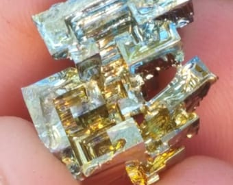Dense spiral Bismuth Crystal