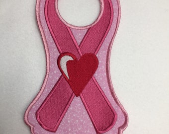Breast Cancer Pink Ribbon Awareness Support Doorknob Hangers