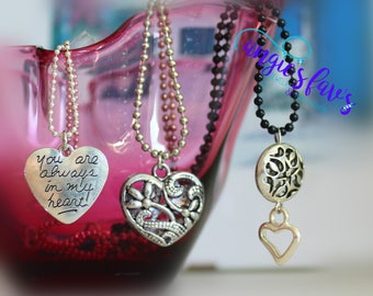 Ball Chain Necklaces, You Are Always In My Heart