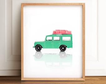 Playroom decor, Nursery art, PRINTABLE art, Boys room wall art, Vintage car decor, Nursery prints, Boy nursery decor, Kids room art