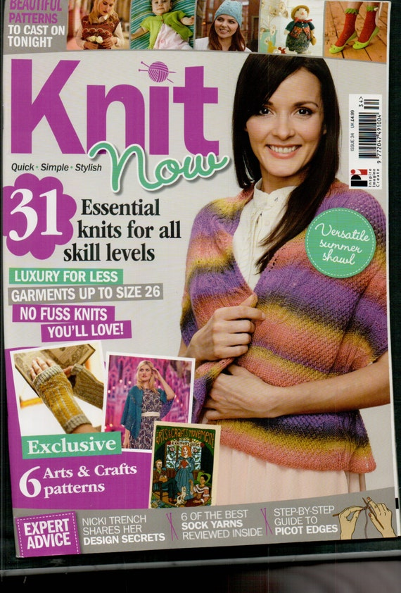 Knit Now Knitting Magazine Issue 34 April 2014