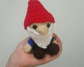 Mini Plush Garden Gnome