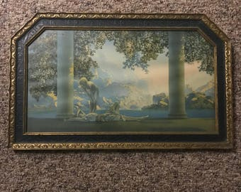 Maxfield Parrish print