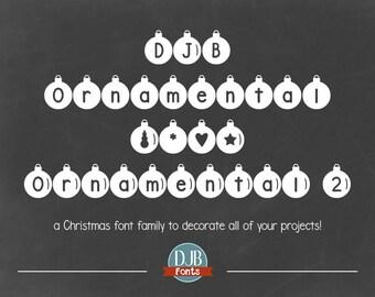 DJB Ornamental Font Family