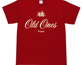 HP Lovecraft - The Old Ones R'lyeh Cthulhu T Shirt.