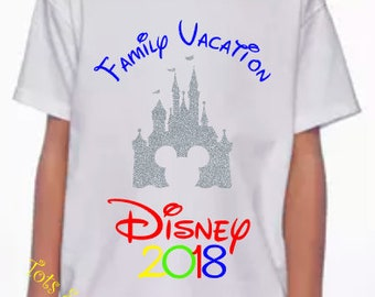 Disney Shirts - YOUTH, TODDLER, and BABY sizes