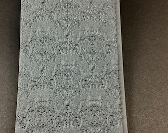 QUEEN ANNES LACE Fineline Rubber Texture Tile Mat Stamp for Clay inks  Paint Soap   TTL827
