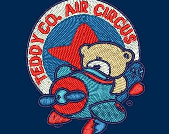 Machine Embroidery Design Teddy Bear