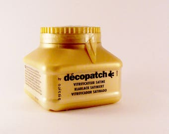 Satin sealer Aquapro from Decopatch 90 ml