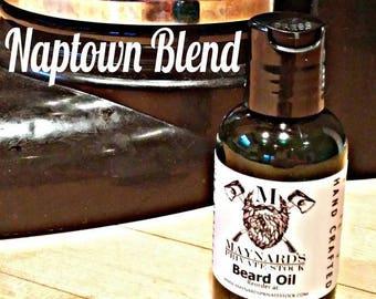 Beard Oil - Naptown Blend (Coffee scented beard oil) best selling items, beard gift, self care, beard oil kit, beard grooming, beard balm