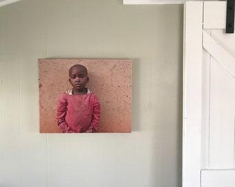 Rwanda Pygmy Girl