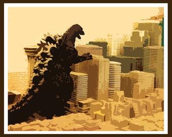 Godzilla vs. City