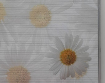 "bag of 25 sheets of paper flowers ""Daisies"" A4 size"