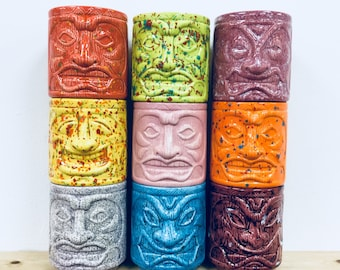 Bulk Buy 10 tiki mugs - COLLECTION ONLY !