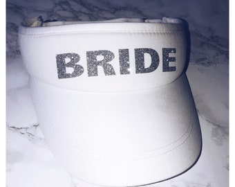 Bride to be Sun Visor Hat