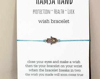 HAMSA Hand Wish armband