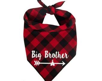Dog Bandana Birth Baby Announcement, Big Brother Dog Bandana, Pregnancy Announcement, Big Brother Dog Announcement, Baby Shower, Baby Gift