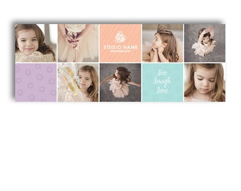 Facebook Timeline Cover Template For Photographers - LITTLE BOXES - 1093