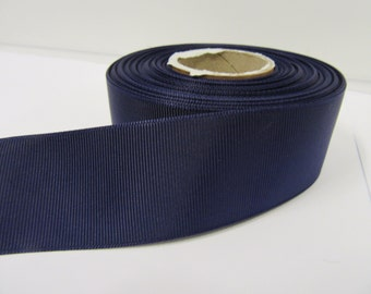 Grosgrain Ribbon 3mm, 6mm 10mm 16mm 22mm 38mm 50mm Rolls, Dark Purple, 2, 10, 20 or 50 metres, Ribbed Double sided,