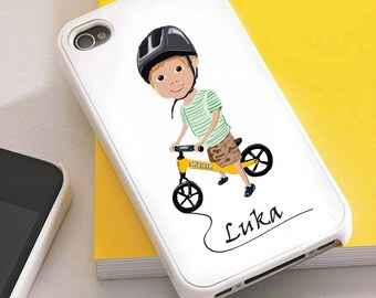 Personalized cell phone case for iPhone, Samsung