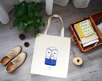 Wallflower Series: Book Club Tote Bag