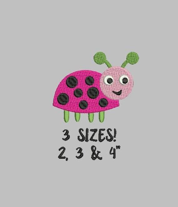 Bogo Free Ladybug Embroidery Design Mini Ladybug Small