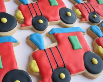 CHOO-CHOO TRAIN Sugar Cookie Party Favors, 1 Dozen