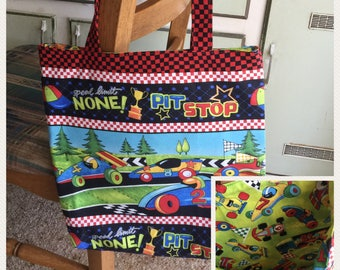Kids Tote/Library Bag