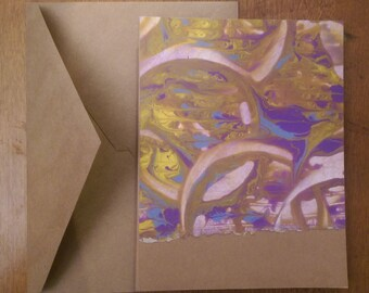 Painted Paper Greeting Cards