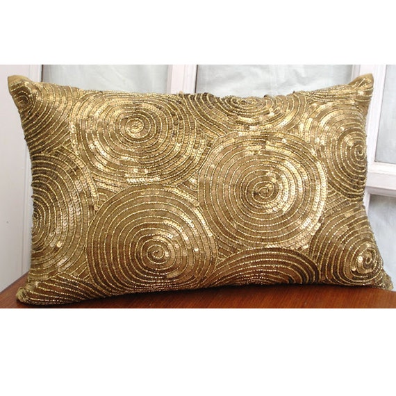 pillow shop sequin textured on polyester simon lumbar chang silver deal amazing throw decorative sequins decor