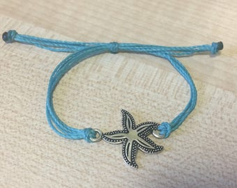 Starfish charm Adjustable Friendship Bracelets