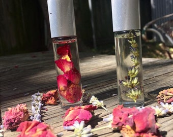 Rose & Lavender Naturally Perfumed Oil