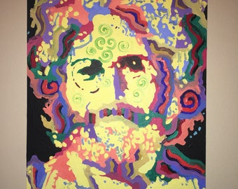 Jerry Garcia Grateful Dead Original Painting