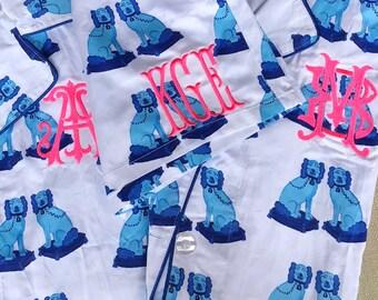 Monogram Staffordshire Nightshirt size LG/XL