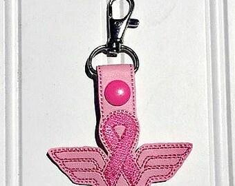 Wonder Woman - Breast Cancer Awareness - Keychain