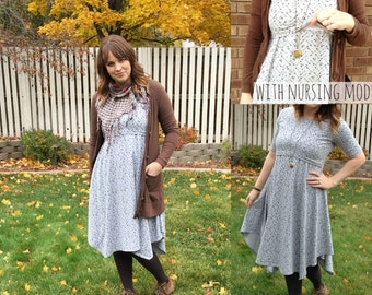 Women's Boheme Sky PDF Sewing Pattern ... Sizes XS-XXXL