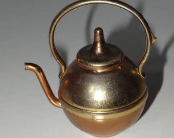 Brass Model of a Teapot Kettle Vintage