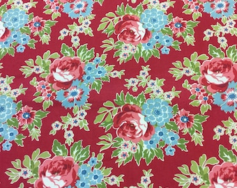 Andover fabric 7774 in red by the Half Metre