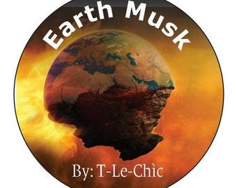 Earth Musk. 5 oz Bar soap