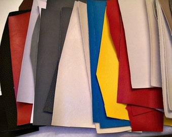 Vinyl Upholstery Fabric Scrap Bundle