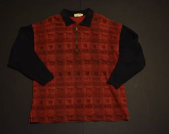 Vintage banana republic pullover sweatshirt size large
