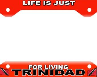 TRINIDAD  License Plate Frame Novelty Tag